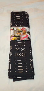 African Mudcloth Print Headwrap