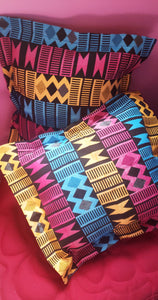 African Aztec Pillow Cover