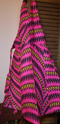 African Pink Girly Girl Apron