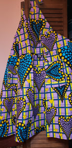 African Purple Heart Apron