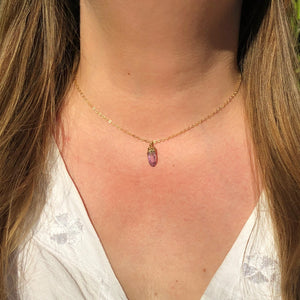 Veracruz Amethyst Point Necklace