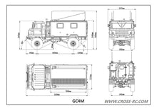 90100039 GC4M COMPLETE TRUCK KIT 1/10TH