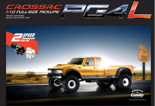 9010021 CROSS-RC PG4L 1:10 4WD 2-Speed Dually Pickup Truck RC Crawler