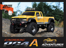 90100025 CROSS-RC PG4A 4WD 1/10 Scale Off Road Truck Rock Crawler KIT