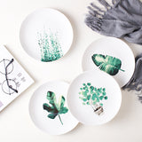 Tropical 4 pcs set 8 inch tableware set