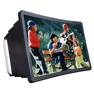 Smartphone Video Screen Magnifier