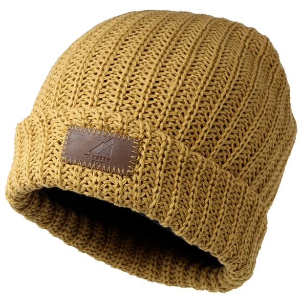 This hat is a popular shade of mustard yellow that is the perfect pop of color in any outfit.