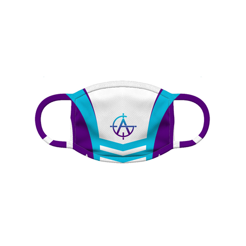 Aimless Gaming | Street Gear | Sublimated Custom Full Print Face Mask