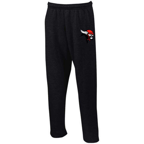 Bacon County | Street Gear | Open Bottom Sweatpants with Pockets [Embroidered]