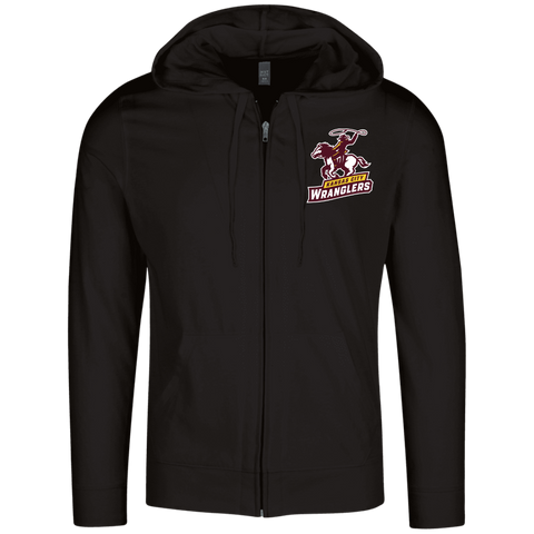 Kansas City Wranglers | Street Gear | Embroidered Lightweight Full Zip Hoodie