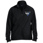 Esports at Penn State Altoona | Street Gear | Embroidered Men's Raglan Sleeve Warmup Jacket