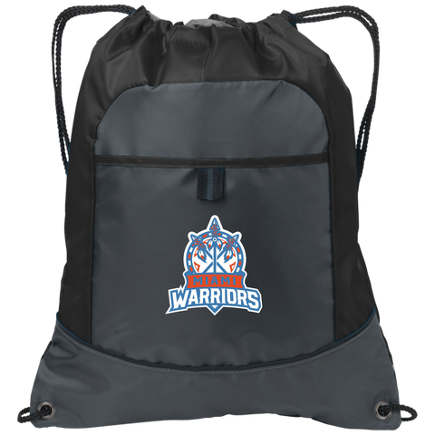 Miami Warriors | Street Gear | Embroidered Pocket Cinch Pack