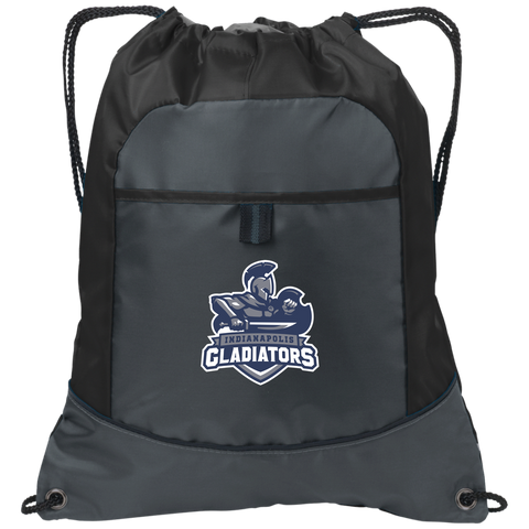 Indianapolis Gladiators | Street Gear | Embroidered Pocket Cinch Pack