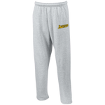 BVU Esports | Street Gear | Embroidered Open Bottom Sweatpants with Pockets