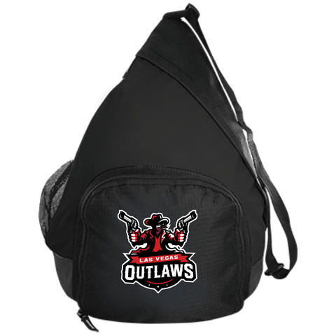 Las Vegas Outlaws | Street Gear | Embroidered Active Sling Pack
