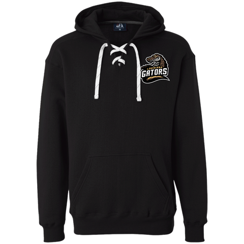 Louisiana Gators | Street Gear | Embroidered Heavyweight Sport Lace Hoodie