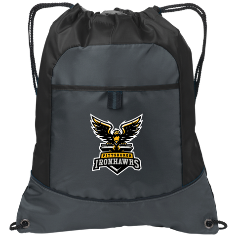 Pittsburgh Ironhawks | Street Gear | Embroidered Pocket Cinch Pack