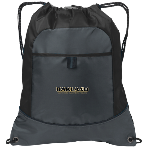 Oakland University Rocket League Club | Street Gear | Embroidered Pocket Cinch Pack