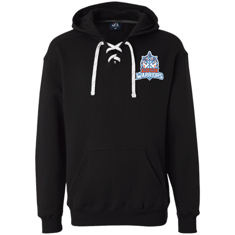 Miami Warriors | Street Gear | Embroidered Heavyweight Sport Lace Hoodie
