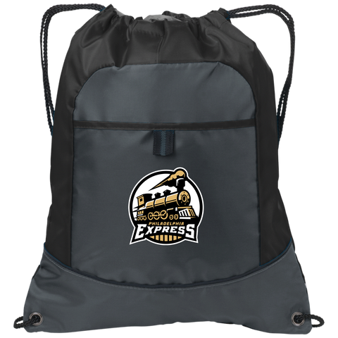 Philadelphia Express | Street Gear | Embroidered Pocket Cinch Pack