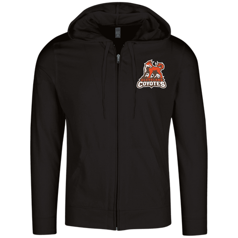 Cleveland Coyotes | Street Gear | Embroidered Lightweight Full Zip Hoodie