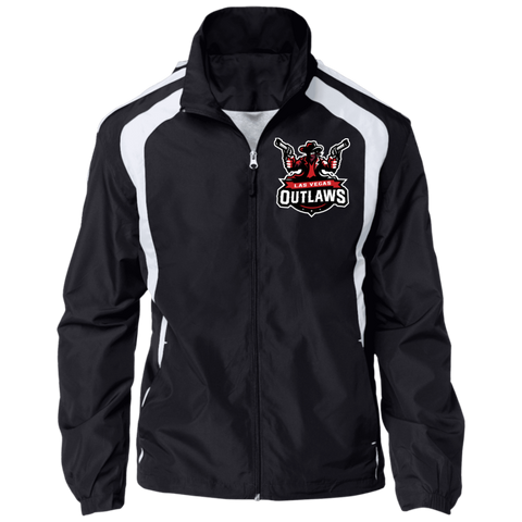 Las Vegas Outlaws | Street Gear | Embroidered Jersey-Lined Jacket