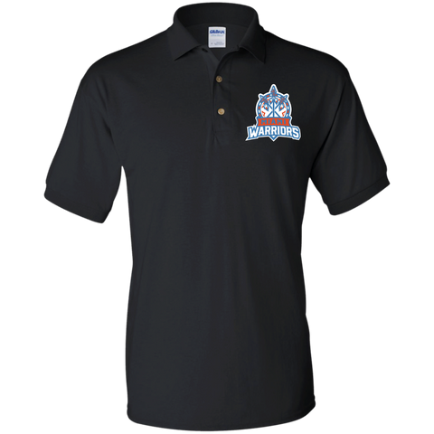 Miami Warriors | Street Gear | Embroidered Jersey Polo Shirt