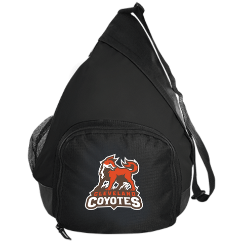 Cleveland Coyotes | Street Gear | Embroidered Active Sling Pack