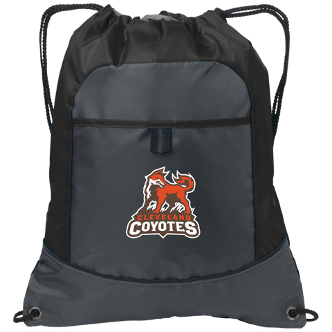 Cleveland Coyotes | Street Gear | Embroidered Pocket Cinch Pack