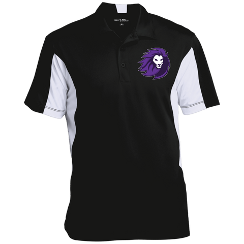 Lions Esports | Street Gear | Embroidered Men's Colorblock Performance Polo