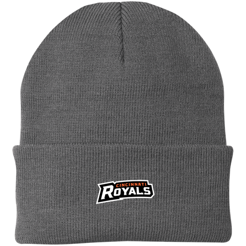 Cincinnati Royals | Street Gear | Embroidered Knit Cap