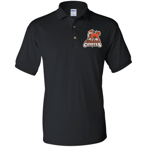 Cleveland Coyotes | Street Gear | Embroidered Jersey Polo Shirt