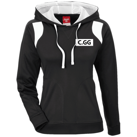 ClashGG | Street Gear | Embroidered Ladies' Colorblock Poly Hoodie