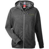 Oakland University Rocket League Club | Street Gear | Embroidered Men's Heathered Performance Hooded Jacket