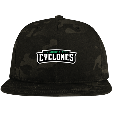 Oklahoma City Cyclones | Street Gear | Embroidered Snapback Hat