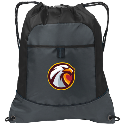 Oklahoma Christian Esports | Street Gear | Embroidered Pocket Cinch Pack