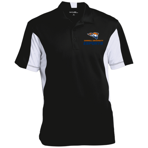 Carroll University | Street Gear | [Embroidered]  Colorblock Performance Polo