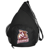 San Francisco Sharks | Street Gear | Embroidered Active Sling Pack
