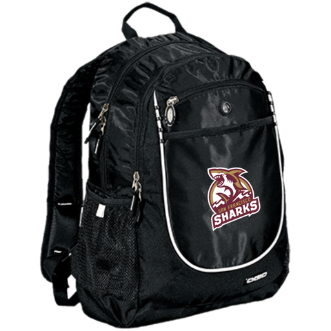 San Francisco Sharks | Street Gear | Embroidered Rugged Bookbag