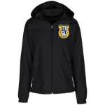 Murray State Esports | Street Gear | Embroidered Ladies' Jersey-Lined Hooded Windbreaker