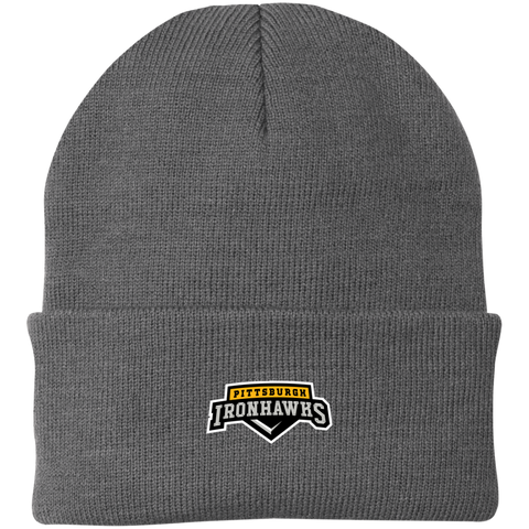 Pittsburgh Ironhawks | Street Gear | Embroidered Knit Cap