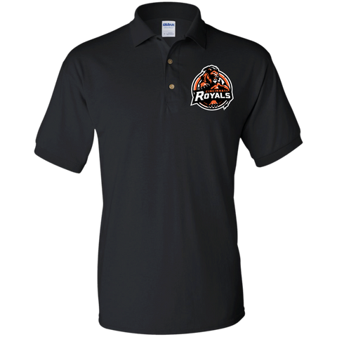 Cincinnati Royals | Street Gear | Embroidered Jersey Polo Shirt
