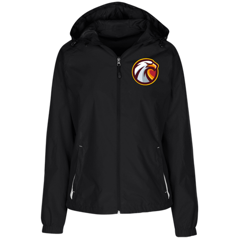 Oklahoma Christian Esports | Street Gear | Embroidered Ladies' Jersey-Lined Hooded Windbreaker