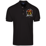Arizona Heat | Street Gear | Embroidered Cotton Pique Knit Polo