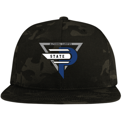 Esports at Penn State Altoona | Street Gear | Embroidered Flat Bill High-Profile Snapback Hat