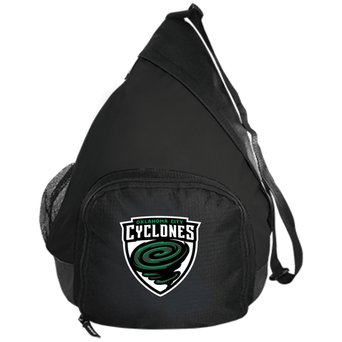 Oklahoma City Cyclones | Street Gear | Embroidered Active Sling Pack