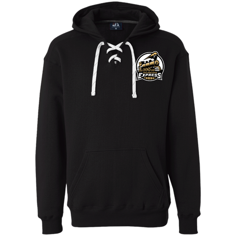 Philadelphia Express | Street Gear | Embroidered Heavyweight Sport Lace Hoodie