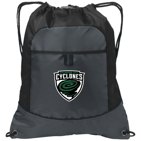 Oklahoma City Cyclones | Street Gear | Embroidered Pocket Cinch Pack