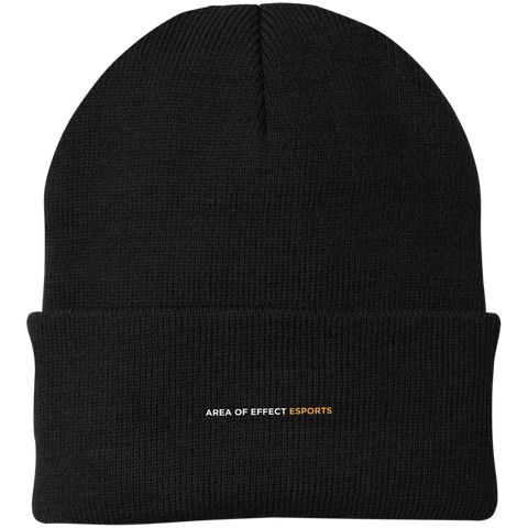 Area of Effect Esports | Street Gear | Knit Cap [Embroidered]