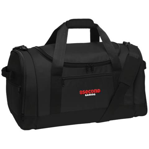 8Second Gaming | Street Gear | Embroidered Travel Sports Duffel